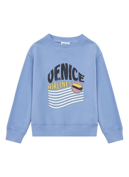 Hundred Pieces Venice Organic Cotton Jumper Blue