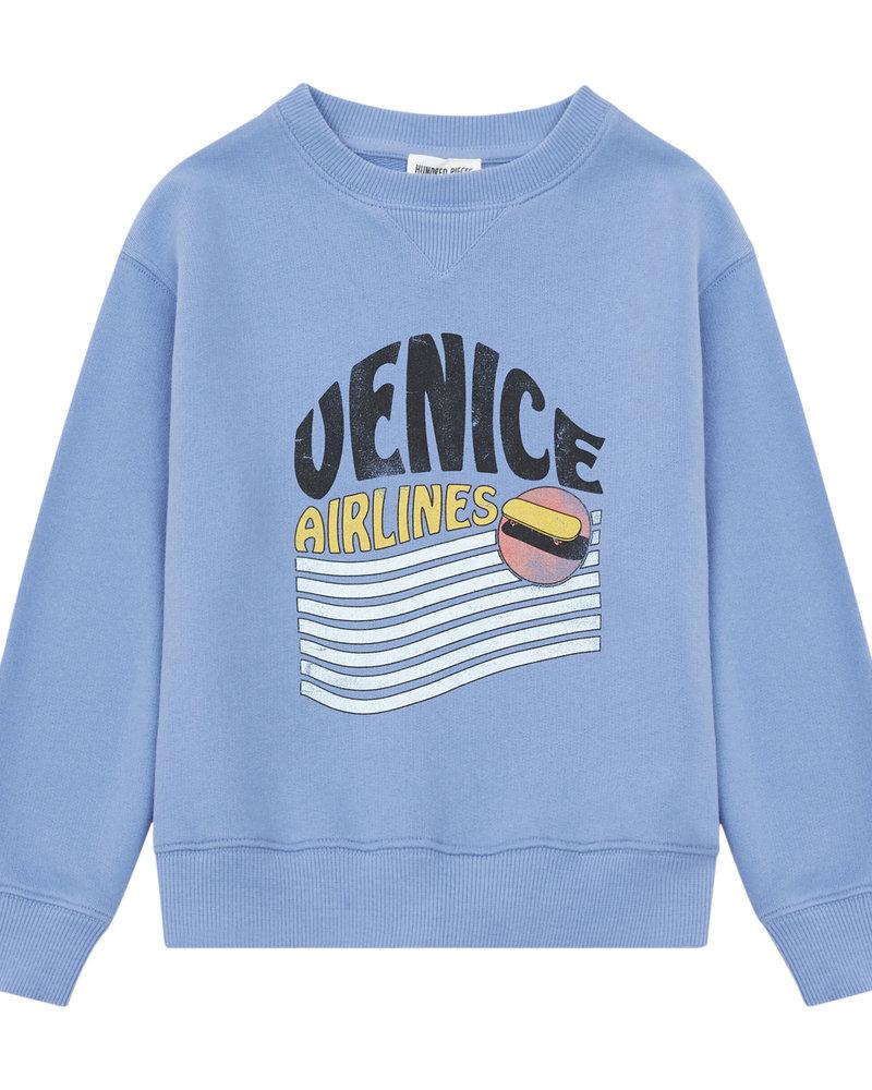 Hundred Pieces Venice Organic Cotton Jumper Blue