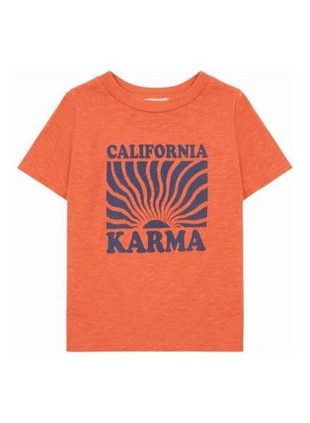 Hundred Pieces Karma Organic Cotton T-Shirt Orange