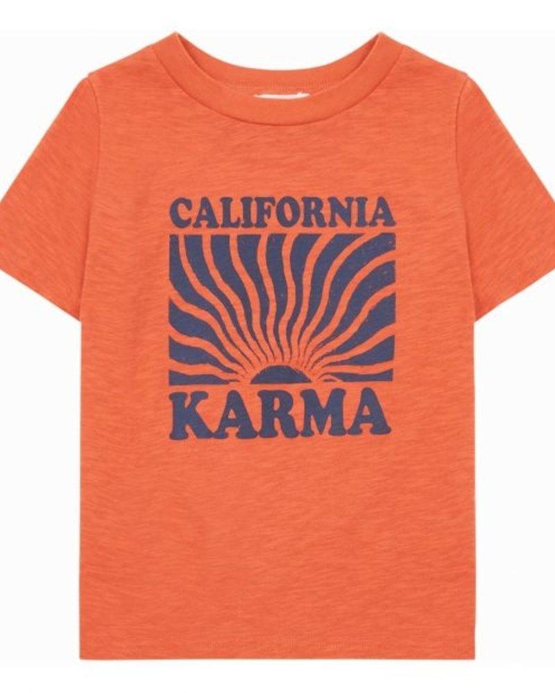 Hundred Pieces Karma Organic Cotton T-Shirt Orange