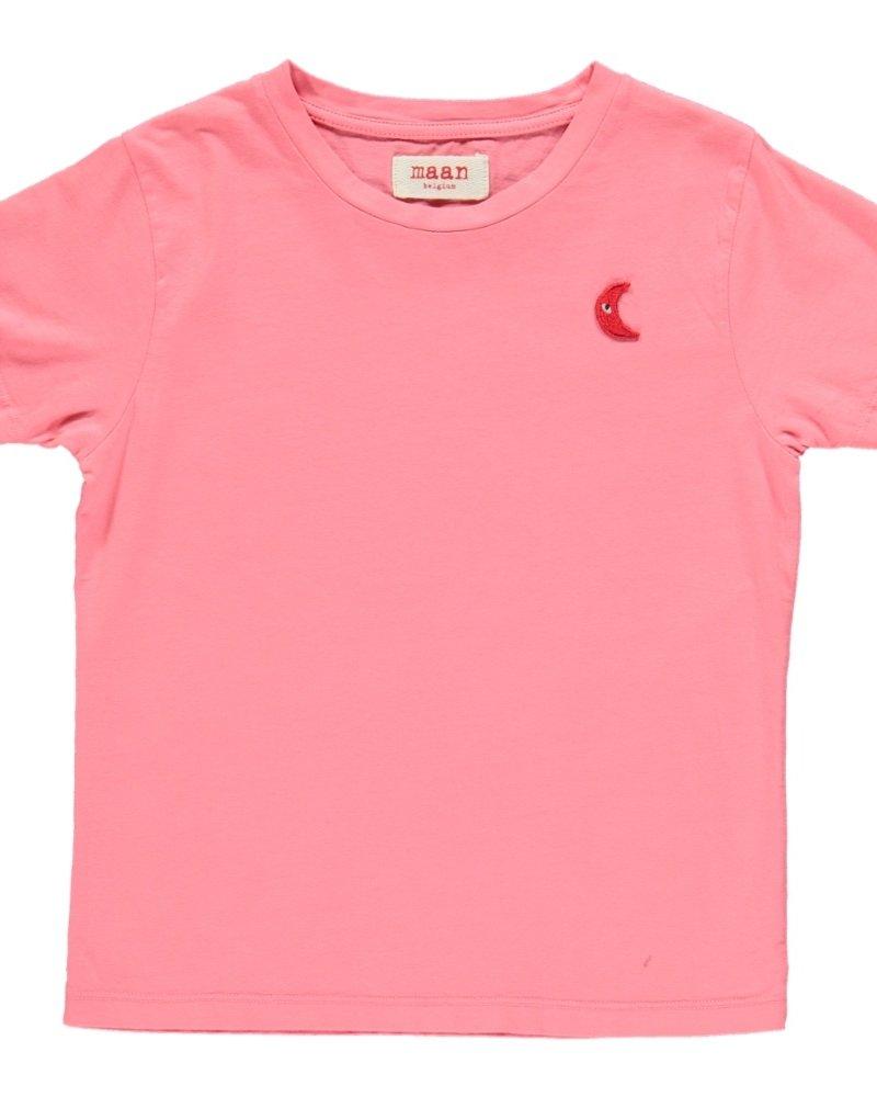 Maan Time T-shirt Pink