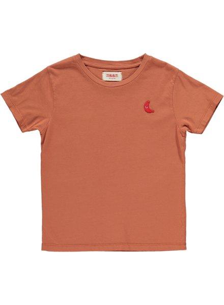 Maan Time T-shirt Caramel
