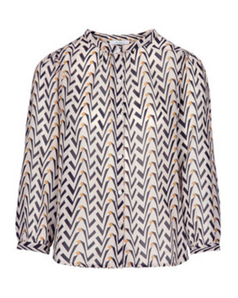 By Bar Lora Coconut Blouse Egg Shell
