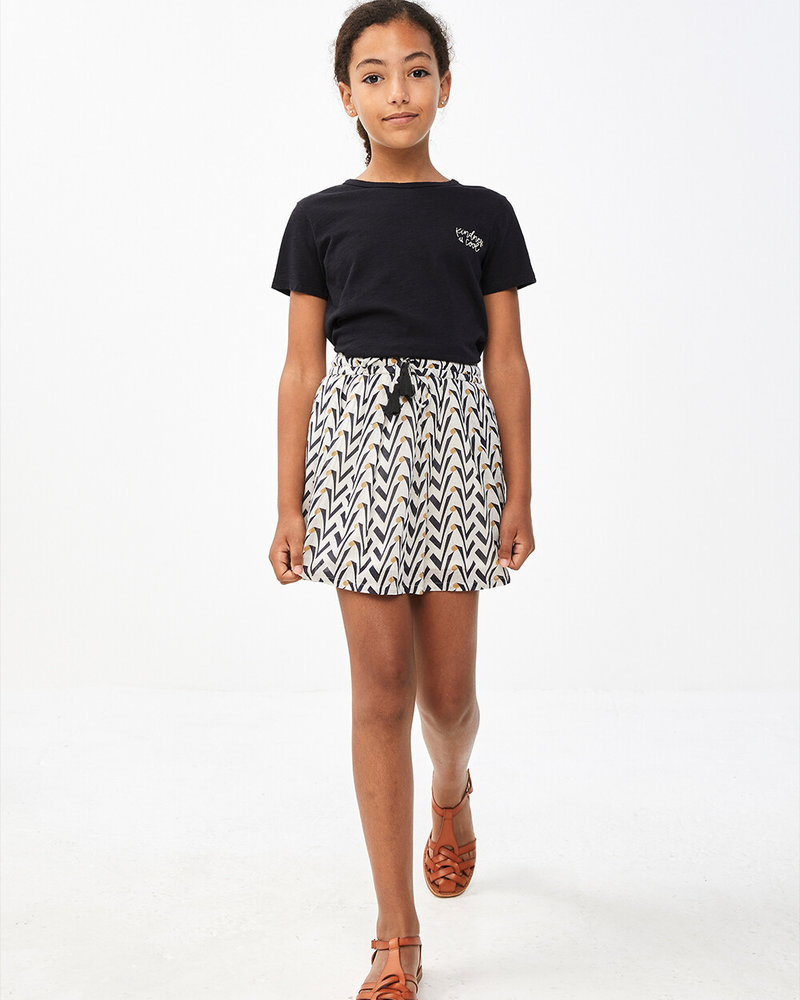 By Bar Palino Skirt  Egg Shell