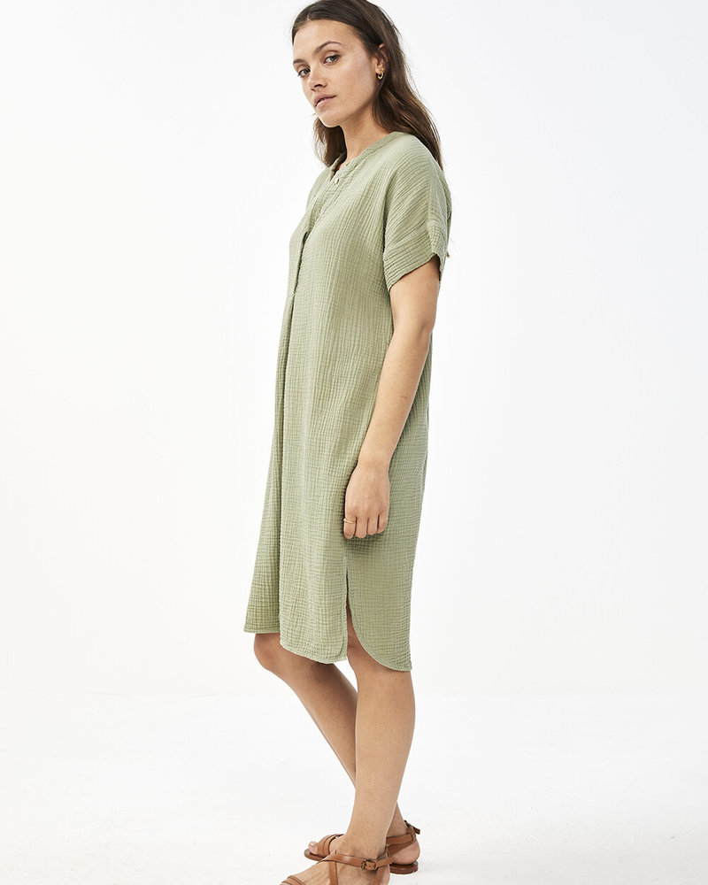 By Bar Otty Dress Bright Olive