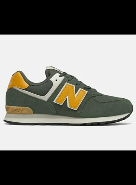 New Balance sneaker Kaki/Geel met veters 36-40