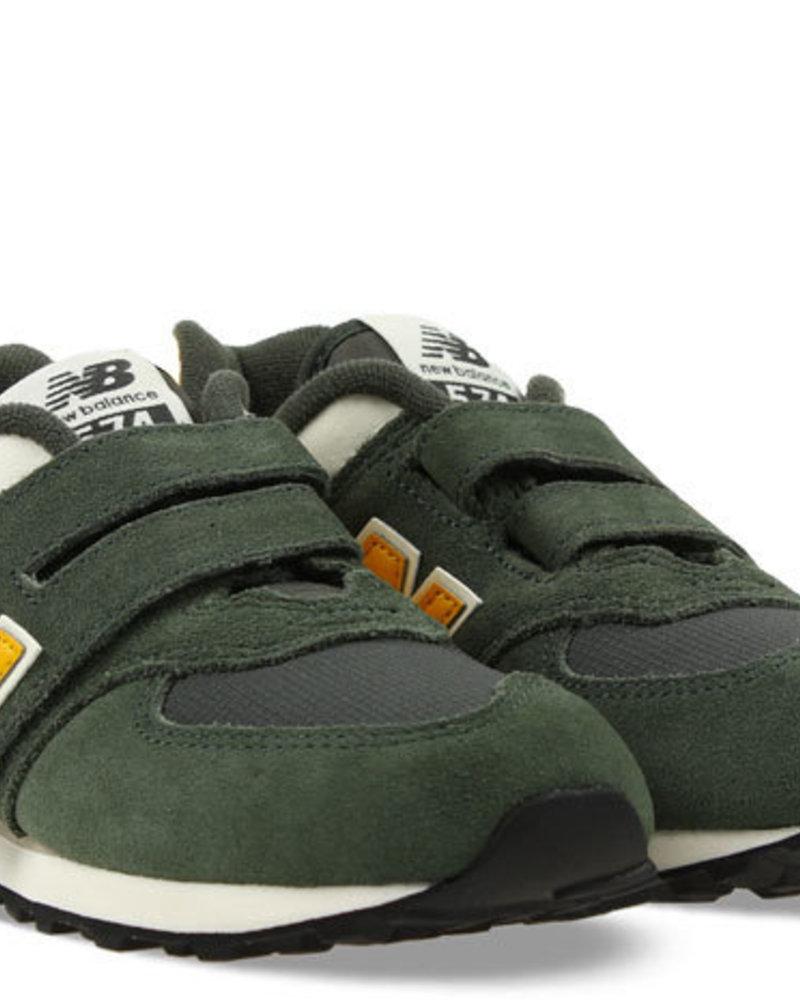 New Balance Sneaker Velcro Green Olive