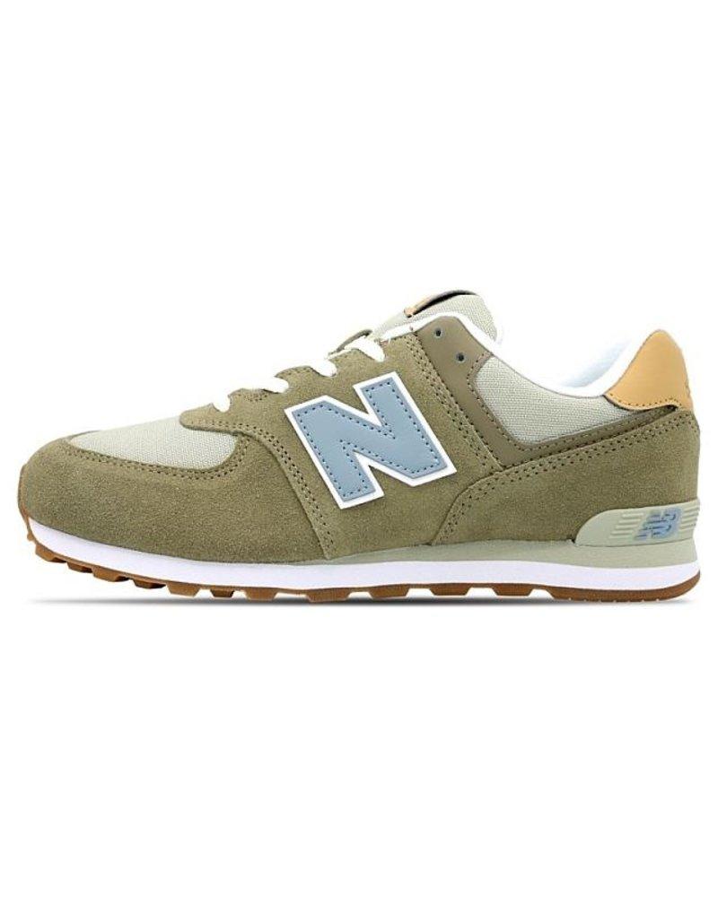 New Balance Sneakers Veters Olijf