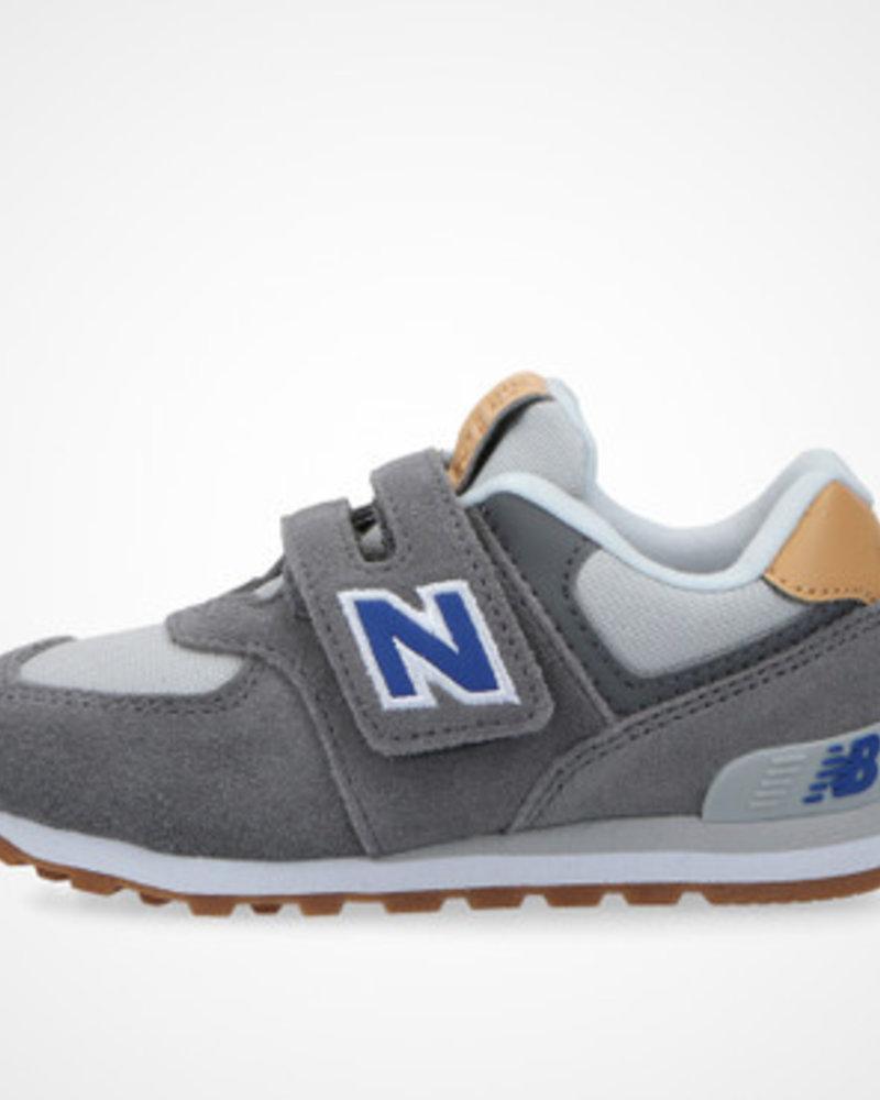 New Balance Kids Velcro Grijs