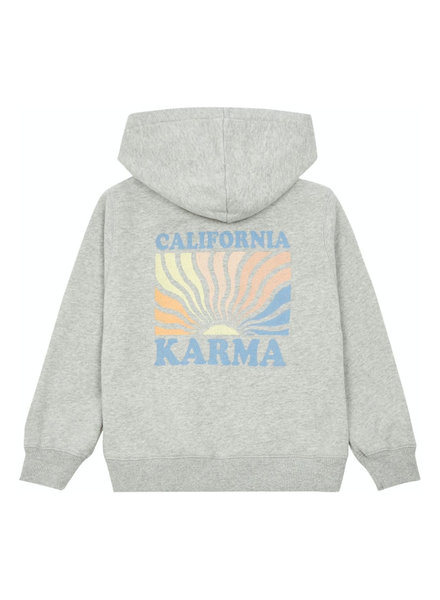 Hundred Pieces Hoodie California Organic  Heather Grey