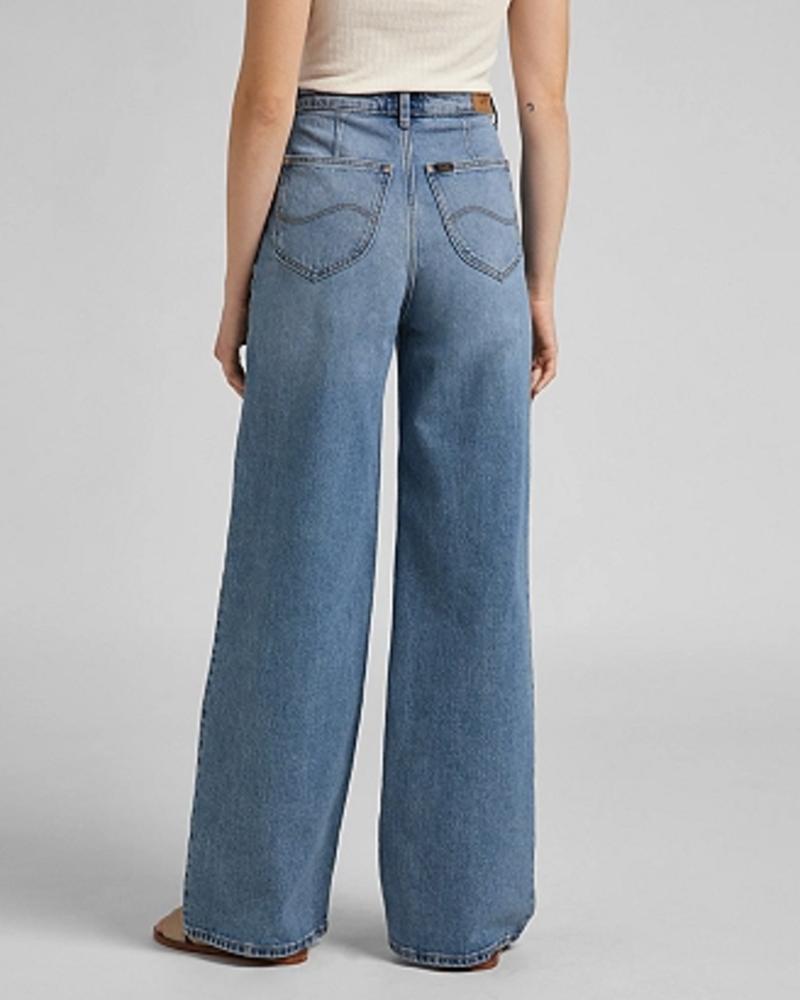 Lee Jeans Stella A Line Ultra High Waist Flare - Mid Soho