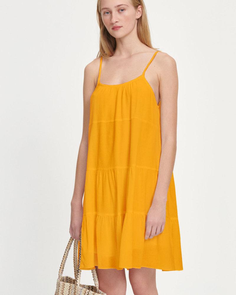 Sarah Dress Jurassic Gold