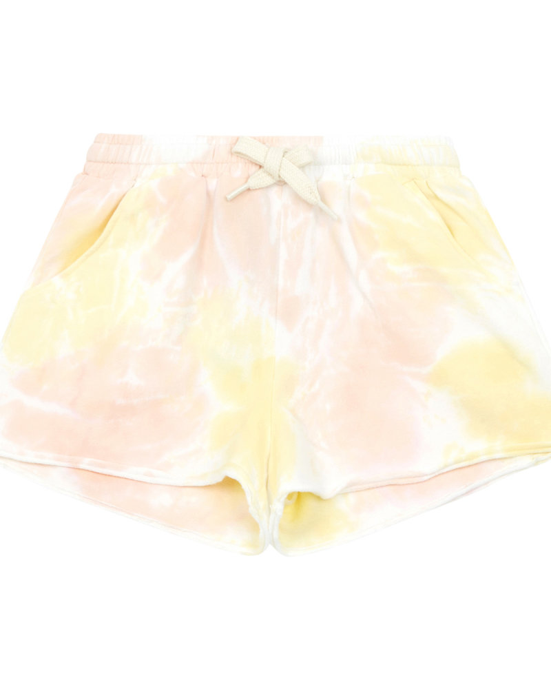Hundred Pieces Tie-dye Short Pink