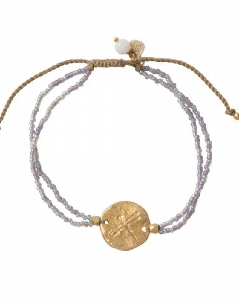 A Beautiful Story Daydream Bracelet Moonstone Gold