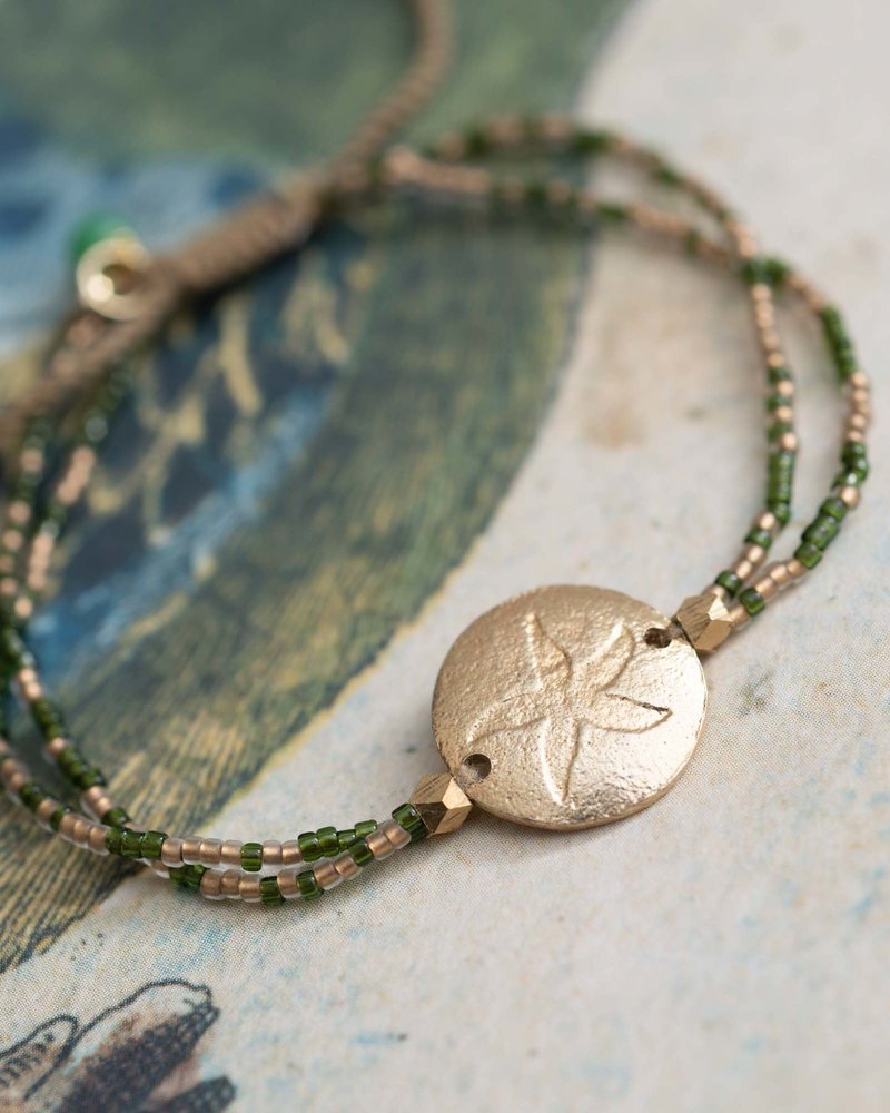 A Beautiful Story Daydream Bracelet Aventurine Gold