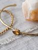 A Beautiful Story Moonlight Bracelet Citrine Gold