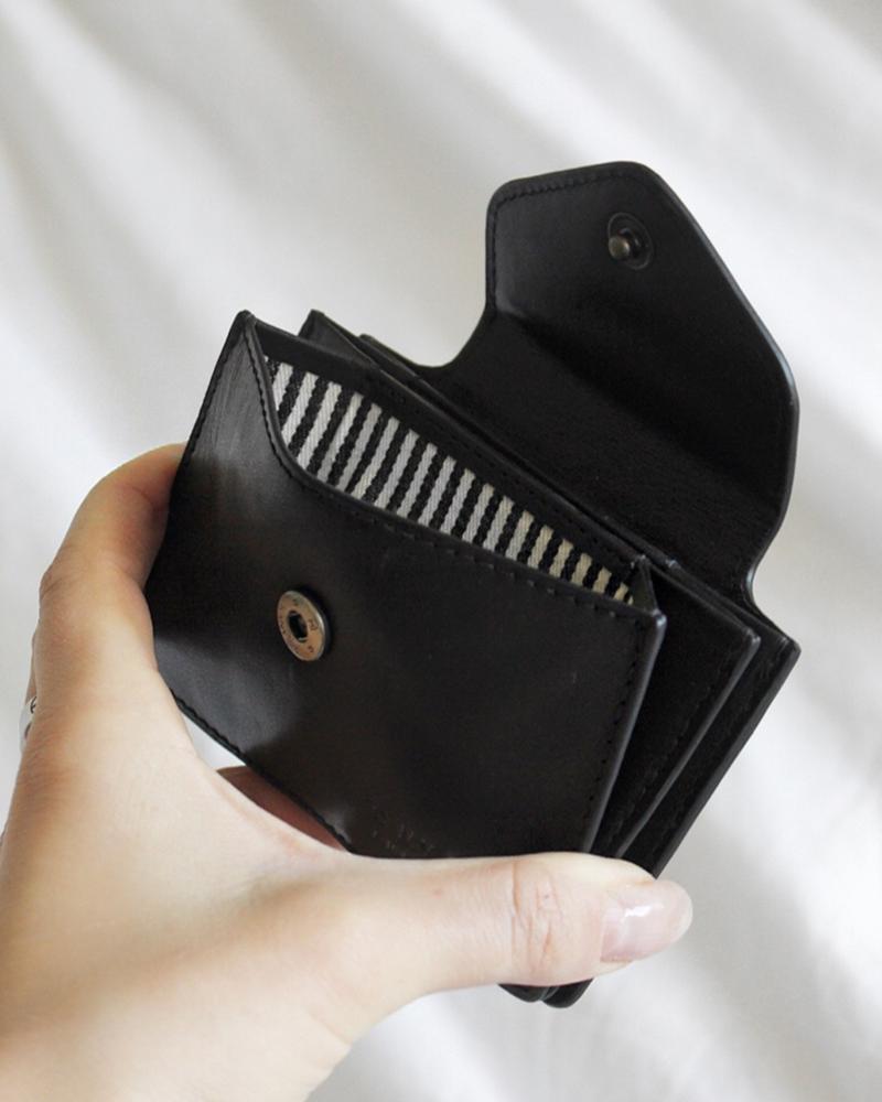 O My Bag Harmonica Wallet Black Classic