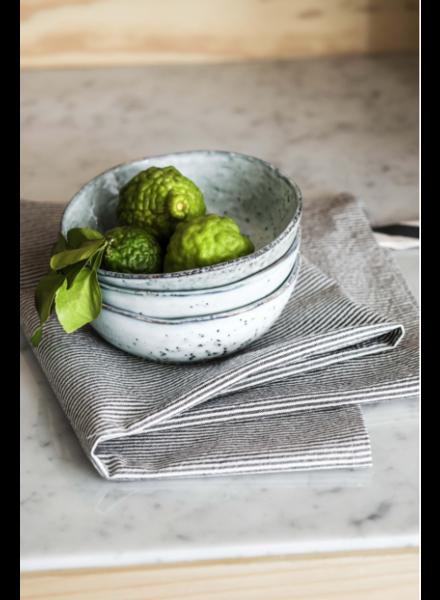 La cerise sur le gâteau Tea Towel Finette Caviar