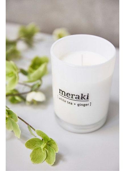Meraki Candle White Tea & Ginger