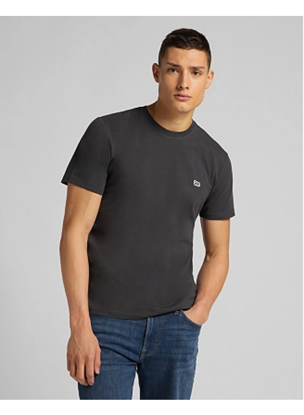 Lee Jeans Patch Logo Tee Washed Black
