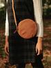 O My Bag Luna Purse Camel/ hunter leather