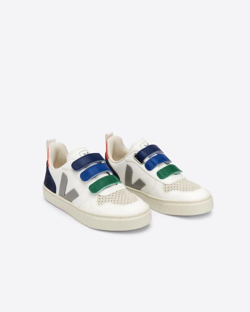 Veja Junior V10 Velcro white/multicolor