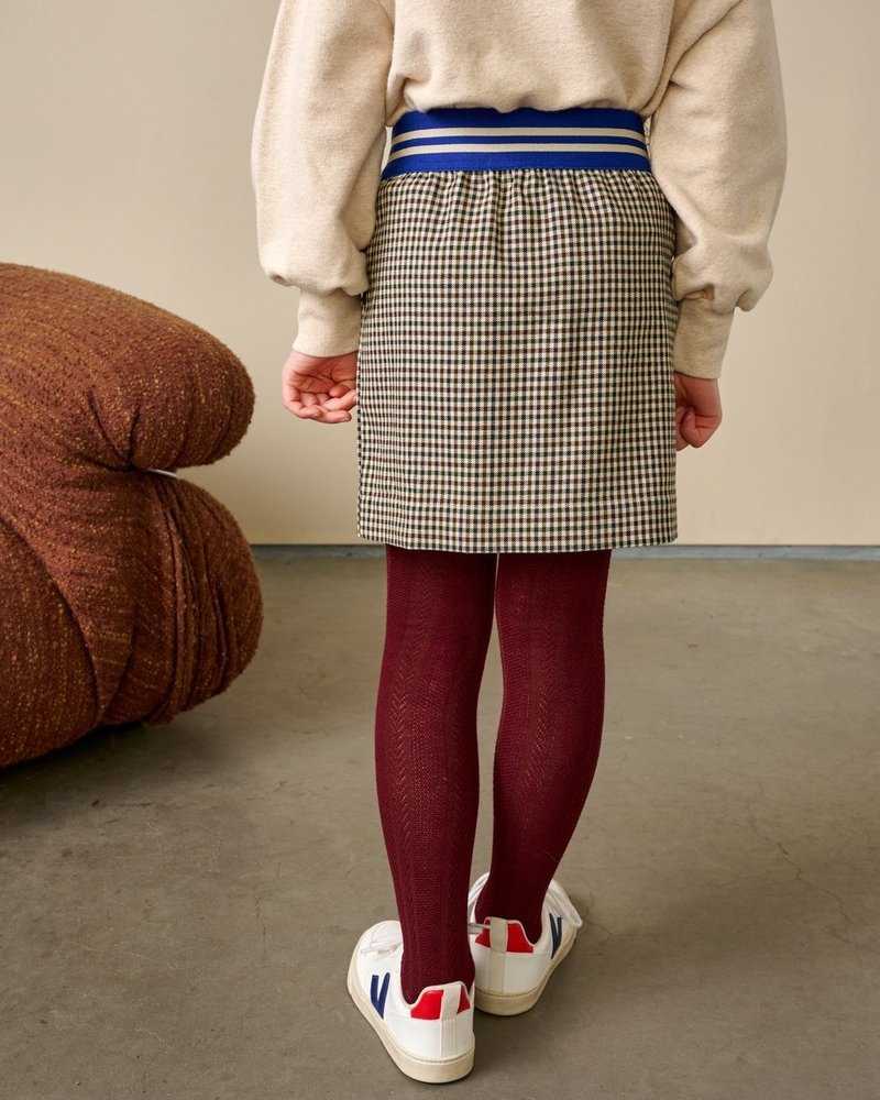 Bellerose Skirt Archi Check A