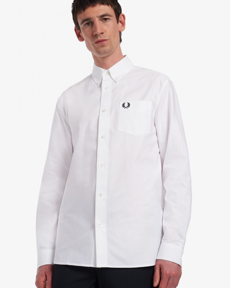 FRED PERRY M2700 Shirt Man Apparel White
