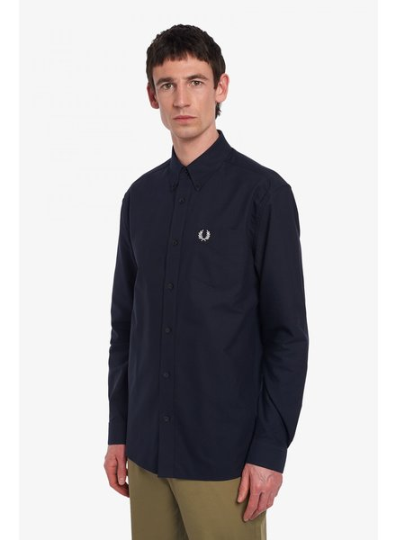 FRED PERRY Shirt Man Apparel Navy
