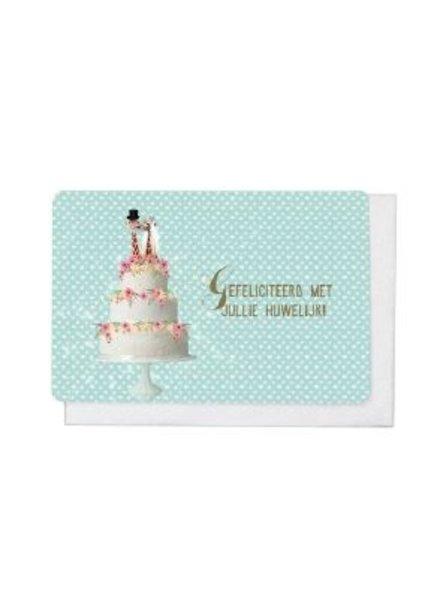 Enfant Terrible V1812 - Gefeliciteerd met jullie huwelijk