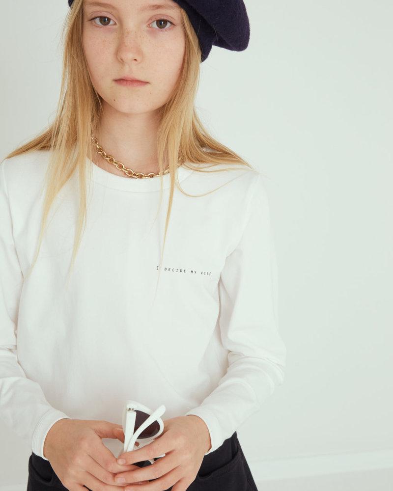 Little Remix Designers Veneto Long Tee White
