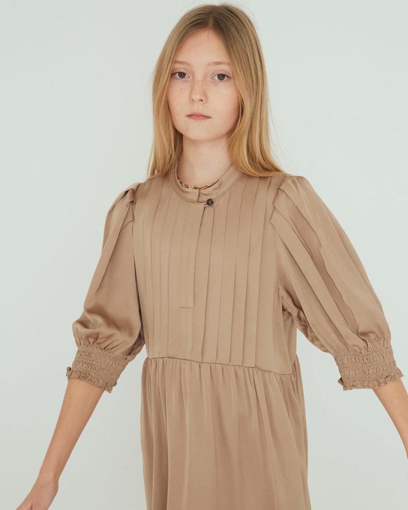 Little Remix Designers Emme Babydoll Dress Sand
