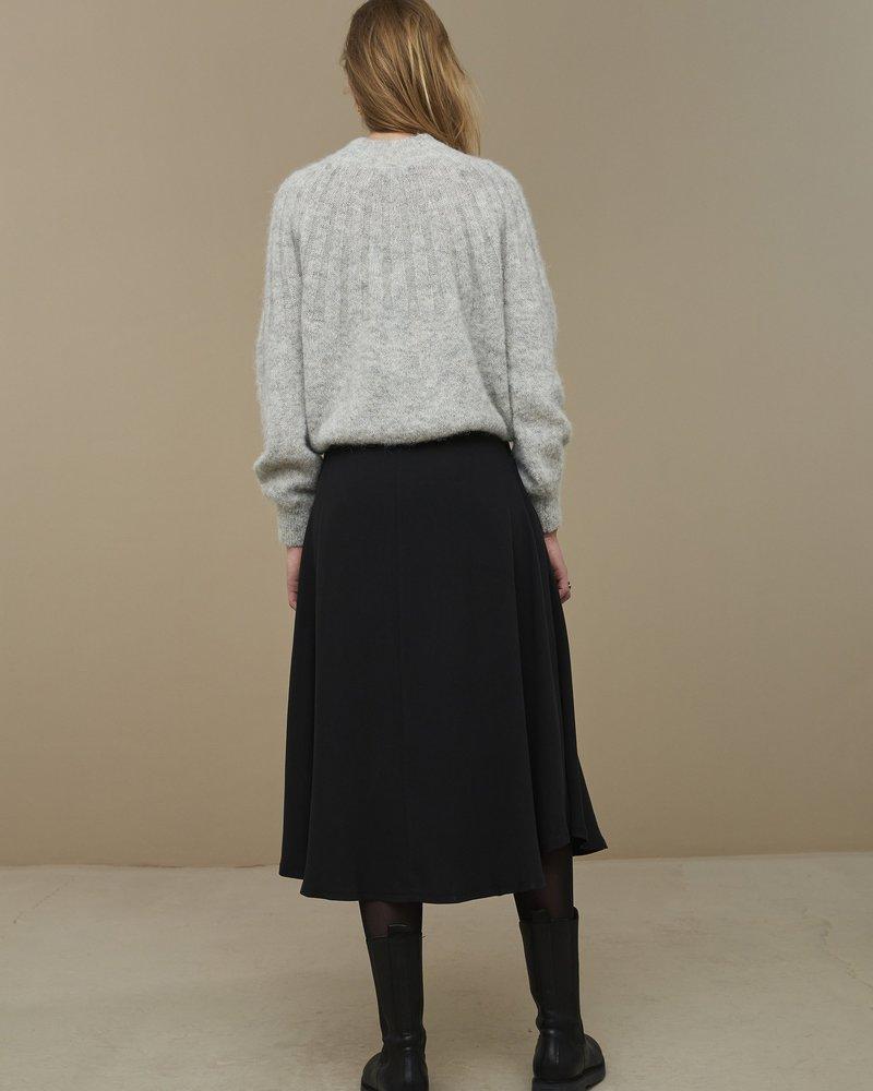 By Bar Davina Tencel Skirt Jet Black