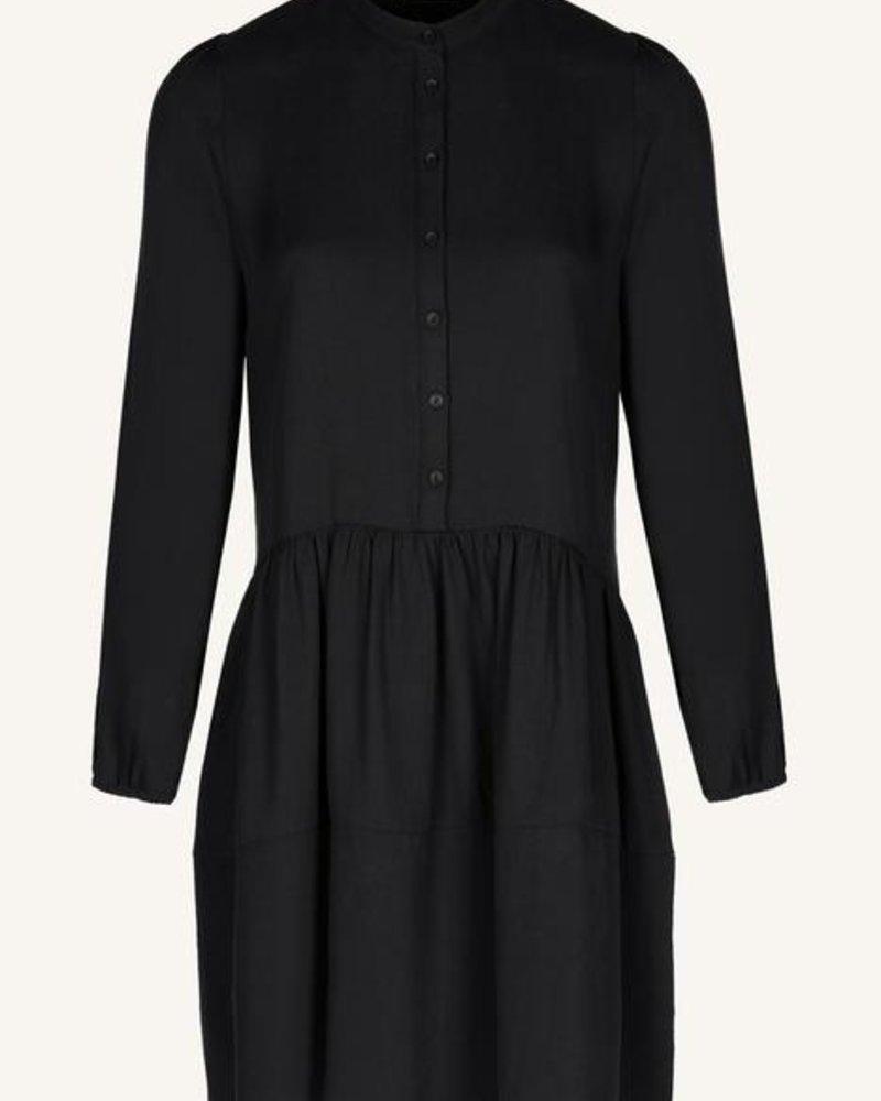 By Bar Nouk Tencel Dress Jet Black