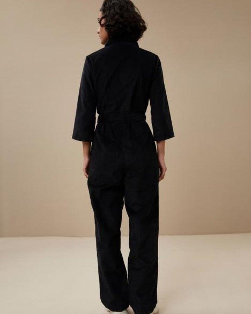 By Bar Louise Cord Suit Jet Black
