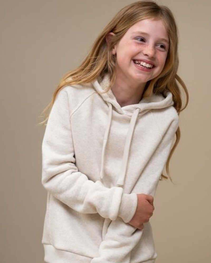 By Bar Hooded Sweater Oyster Melee