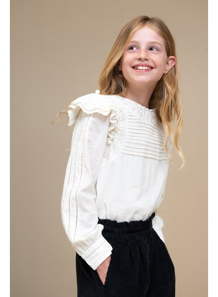 By Bar Demi Blouse Off White
