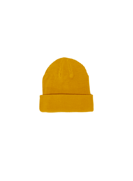 Finger in the nose Carson Beanie Warm Yellow