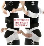 Extra ondersteunende buikband tijdens de zwangerschap