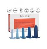 They-ology 5 rectale dilators in oplopende diameter