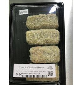 Croquettes maison fromage Meule du plateau de Herve 3p