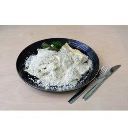 Raviolis viande de veau crème à la truffe