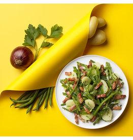 Salade Liégeoise saucisse grillée