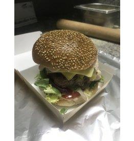 Burger salade mixte