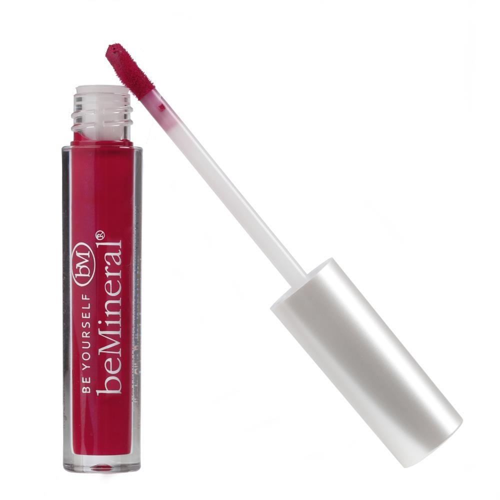 beMineral Liquid Lipstick - BLACKBERRY SMOOTHIE-1