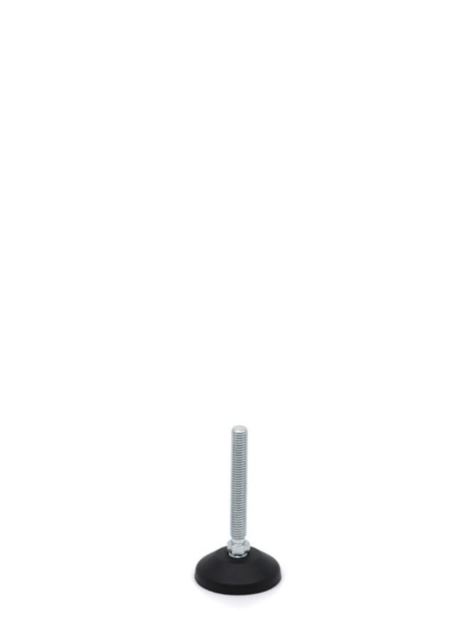 MARBETT Pied articulé type avec plateau en plastique. type 173/625332 - M10 x 71 mm