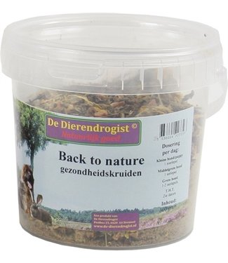 Dierendrogist Dierendrogist back to nature gezondheidskruiden