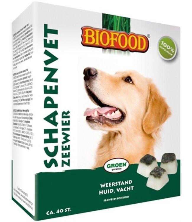 Biofood schapenvet maxi bonbons zeewier