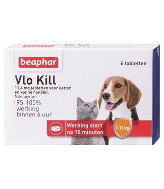 Beaphar Beaphar vlo kill+ kleine hond tot 11 kg | 6 Tabletten