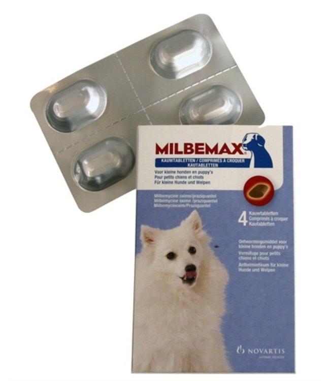 Milbemax kauwtablet ontworming kleine hond/puppy